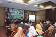 Bicara di Semnas HMI Sumbagsel, Beni : Pemkab Muba Komitmen Jaga Lingkungan