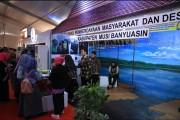 DPMD Muba Pamerkan Teknologi Keripik Biji Karet Di GTTG XV tingkat Provinsi