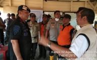 Kapolda Sumsel Suport TIM Percepatan Pemadaman Karhutlahbun di Muara Medak