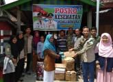 Peduli Korban Kebakaran Di Epil, KM Muba Salurkan Bantuan