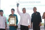 Upaya peningkatan kompetensi dan kualitas tenaga pendidik di Muba berhasil melakukan pemecahan rekor dari Museum Rekor Indonesia (MURI).