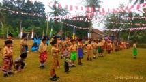 Puncak Perayaan Hut RI Ke 74 Di Plakat Tinggi Berlangsung Meriah