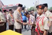 Ribuan peserta Hadiri Peringatan Hari Pramuka ke-58 Tingkat Provinsi Di Muba