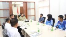 Dalam kesempatan audiensi bersama Bupati Muba Dodi Reza di Kantor Perwakilan Muba di Palembang, Senin (13/1/2020) pengurus Kemala UIN RF melaporkan kepada Bupati Muba Dodi Reza untuk menggelar kegiatan Kompetisi Lalan Berbakat (KLB).