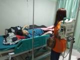 Tantan, Penderita Lumpuh Dan Infeksi Akhirnya Dirawat di RSUD Sekayu