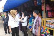 Tertibkan Pasar Talang Jawe, Disdagperin Muba Lakukan Pendekatan Persuasif