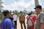 Tim Satgas Percepatan Infrastruktur Listrik Tinjau Lokasi Pemasangan Transmisi Listrik ke Lalan